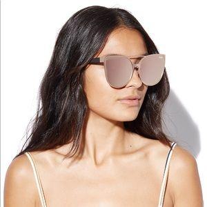 Quay Australia Sorority Princess Sunglasses- Pink
